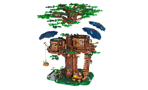 Lego huren boomhut