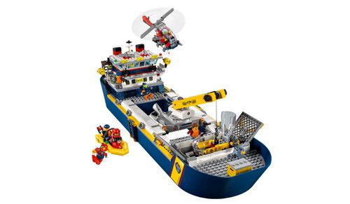 Lego huren Oceaan Onderzoekschip