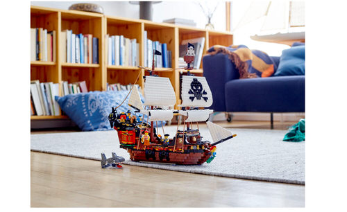 Lego huren Piratenschip