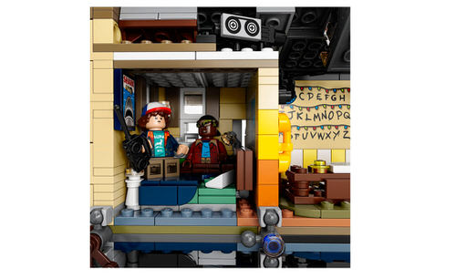 Lego huren Upsidedown