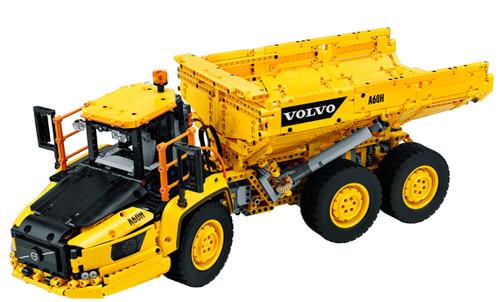 Volvo 6x6 Truck met kieptrailer-42114
